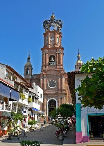 Iglesia de Guadalupe en Puerto Vallarta
