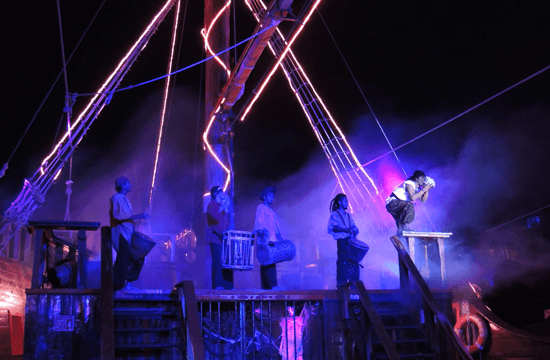 Cancun Things to do - Pirate Ship Show