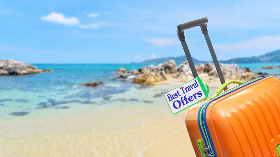 Beach travel deals